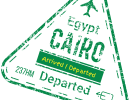 Immigration Stamp Egypt